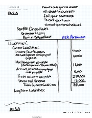 Accounting Lecture 14 Liabilities and Debt