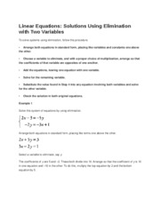 Linear Equation2