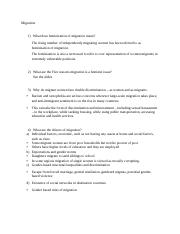 Study question answers_Migration.docx