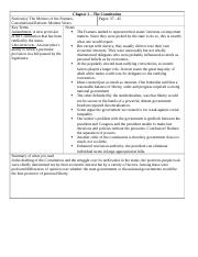 Chapter 2-3 Cornell Notes