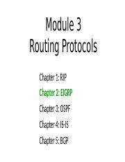 Module3-Chapter02-RoutingProtocols-EIGRP