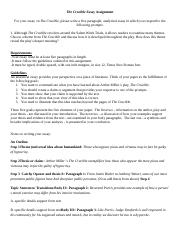 Assignments, essays, dissertations
