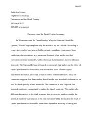 final draft of essay plagiarism leeper katherine leeper most popular documents for english wr 101