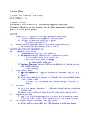 Copy of 1st semster Final Study Guide