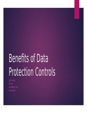 Benefits of Data Protection Controls.pptx