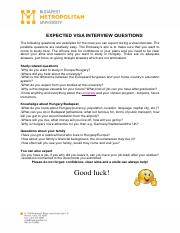 EXPECTED VISA INTERVIEW QUESTIONS.pdf