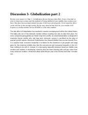SUPERVISOR BMGT 1301 Discussion 3- Globalization part 2.docx
