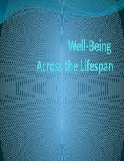 Well-Being Across the Lifespan.pptx