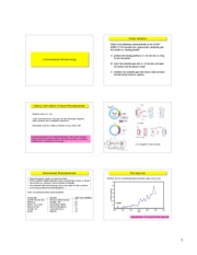CHEN 1000 Biotech Lecture 5 Notes