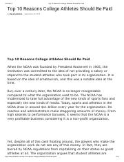 10 reasons to go to college