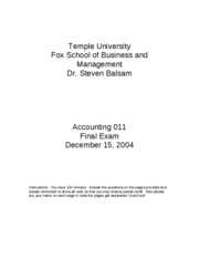 2004 Fall Accounting_011_final_exam_Fall_2004_Answers