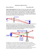 Experiment 6 Spherical Lenses physics report.docx