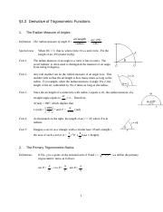 Math 1120 3.3 Derivatives of Trig Functions.doc