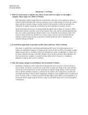 Financial Markets - Homework 3.docx