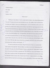 game seven english essay