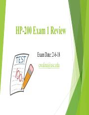 HP-200 Exam 1 Review.pdf