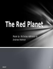The Red Planet.pptx