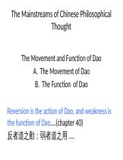 [Daoism] UGEA2160A - Laozi's Dao (action and function).pptx