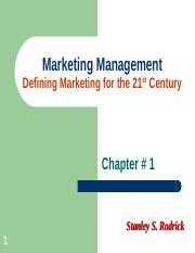 Marketing Management - Chapter 1.ppt
