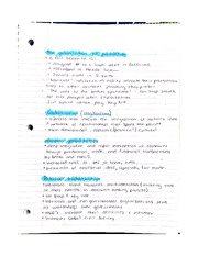Globalization of Production Notes
