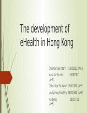 The development of eHealth in Hong Kong.pptx.pptx