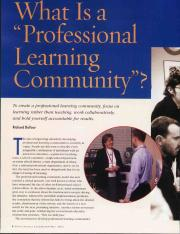 What is a professional leraning community