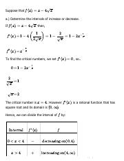 Solution for Chapter 4, 4.3 - Problem 38 - Single Variable Calculus, 6th Edition - eNotes.pdf