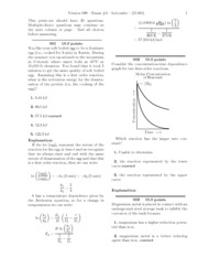 Exam #4-solutions