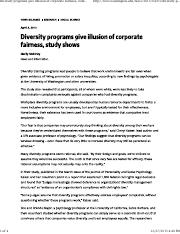 Diversity programs give illusion of corporate fairness study shows.pdf