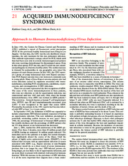 21 Acquired Immunodeficiency Syndrome