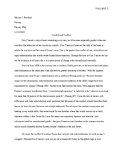 history 3rd paper
