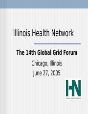 HSC410_WK2 IllinoisHealthNetwork.ppt