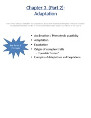 Student copy - Ch. 3 - Adaptation.pptx