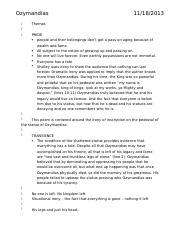 ozymandias by percy b shelley essay