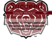 CIS 429 Chapter 5 Powerpoint