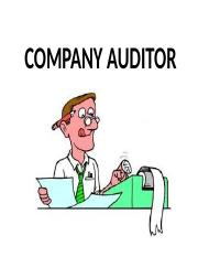 duties and liabilty of auditor.pptx