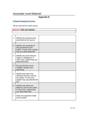 Final Assignment-Comprehensive Argument Analysis