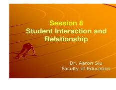 Session 8-Student Interaction  Relationship.pdf