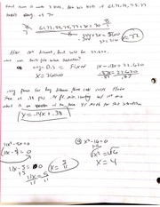 MAT Pratice With X Equations Notes