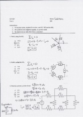 ECE 307 Test 1 Solutions