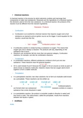 chapter 2 and 3 book 3 chemical reactions