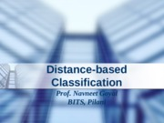 Classification using Distance.ppt