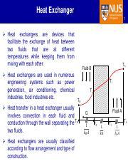 Part-5_Heat Exchangers pdf - Heat Exchanger Formula Differentiation