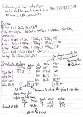 Operations Management Class Notes 8