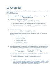 EQ Assignment 2 - Le Chatelier.docx