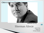 Sherman Alexie Project