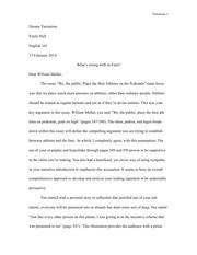 Carls essay
