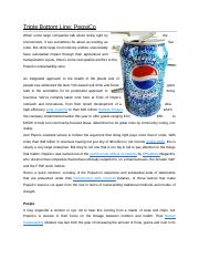 Triple Bottom Line PepsiCo.doc