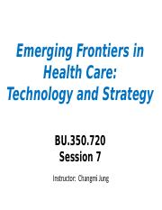 Session7 - Big Data and Healthcare