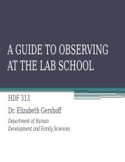 Gershoff--HDF 313--A Guide to Observing F2016
